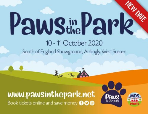 Paws in the Park Spring Show New Date